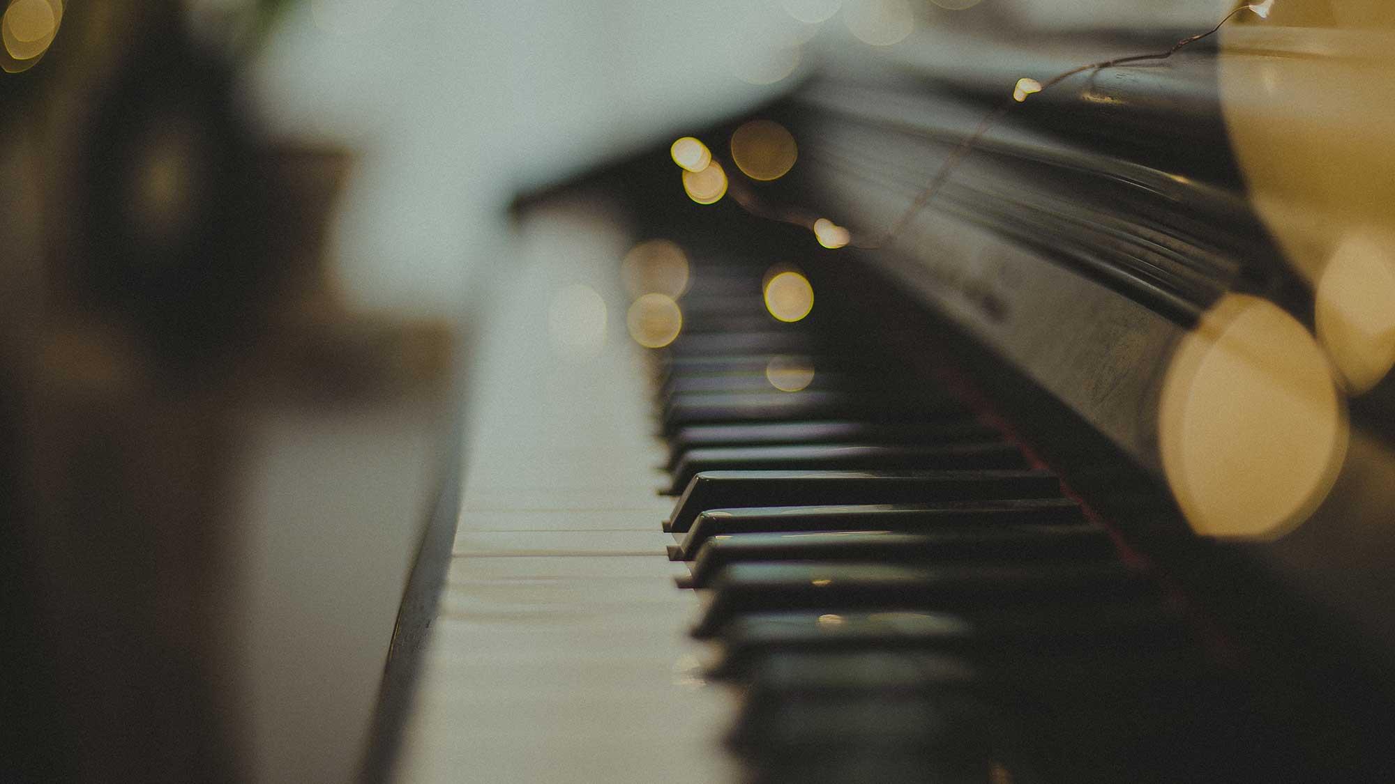 Music - photo of piano