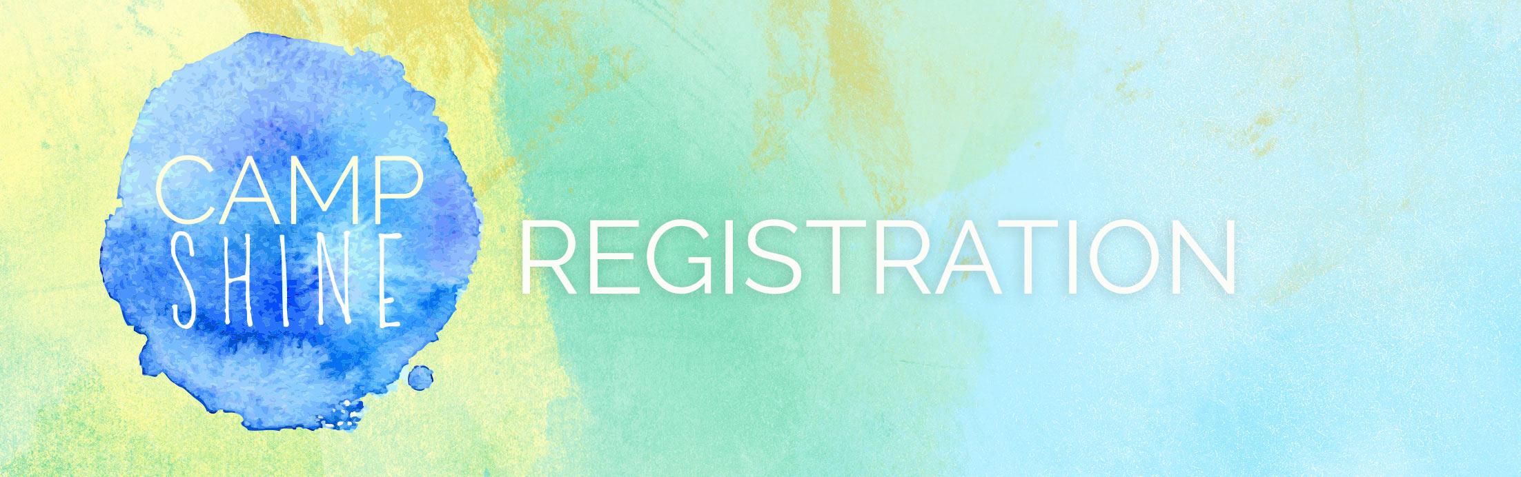 Camp SHINE Registration